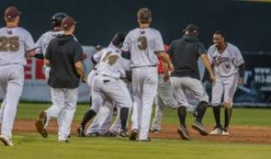 T-Bones Win Slugfest in Game 1, Shutout Saltdogs in Game 2