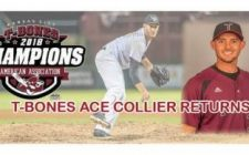 Pitcher of the Year Tommy Collier Returns to T-Bones