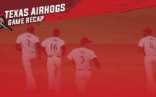 Eight Run Frame Too Much for AirHogs to Overcome, 12-6