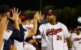 Garcia, Goldeyes Devour Dogs, 15-1