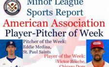 Victor Roache, Eddie Medina Honored in Week 3