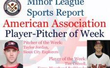 Tim Colwell, Taylor Jordan Honored in Week 4