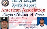 Max Murphy, Bret Helton Honored in Week 6