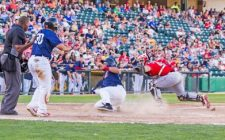 Goldeyes Batter RedHawks, Lambson Wins 8th, 11-3