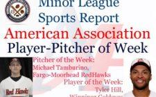 Goldeyes Tyler Hill, RedHawks Michael Tamburino Honored in Week 11