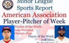 Saints Josh Allen, Dogs Luke Westphal Honored in Week 9