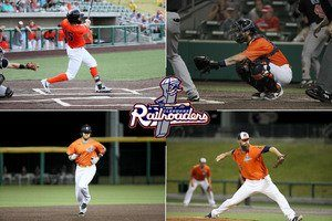 Four Railroaders Selected for American Association All-Star Game