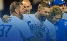 Allen Walk-Off Grand Slam Gives Saints Wild 9-7 Victory