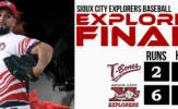 Sierra, Sermo Spur Sioux City to Even Series, 6-2