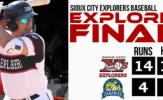 Samson, Zawada Spark Explorers Victory, 14-4
