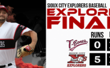 Held, Explorers Bullpen Hold T-Bones Bats Down, 6-0