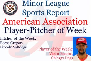 Dogs Victor Roache, Saltdogs Reese Gregory Honored in Week 12