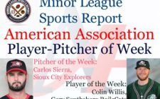 RailCats Colin Willis, Explorers Carlos Sierra Honored in Week 13