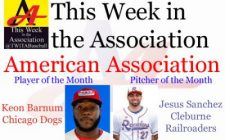 Keon Barnum, Jesus Sanchez Earn July Honors in American Association