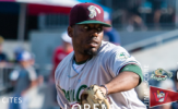 Ball Gem Spoiled, Goldeyes Blank RailCats, 2-0