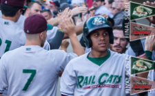 RailCats, AirHogs Split Double-Header