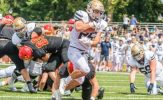 Gibas, Delich Lead Punishing Ground Attack as Royals Roll, 42-10