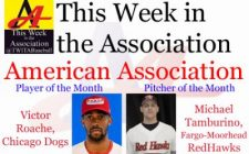 Victor Roache, Michael Tamburino Earn August Honors in American Association