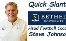 Quick Slants with Bethel University Head Football Coach Steve Johnson