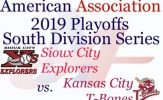 2019 American Association Playoff Preview: Sioux City Explorers vs. Kansas City T-Bones