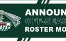 RailCats Announce 12 Roster Moves