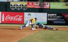Bragg, Lago Lead Canaries to Victory over Saints, 5-3