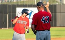 Lachance Homers Twice to Lead Goldeyes to 8-4 Victory
