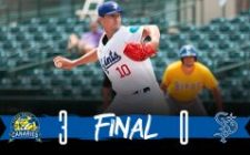 Saints Offense Stymied, Fall to Canaries 3-0