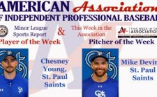 Young, Devine Receive American Association Week 2 Honors