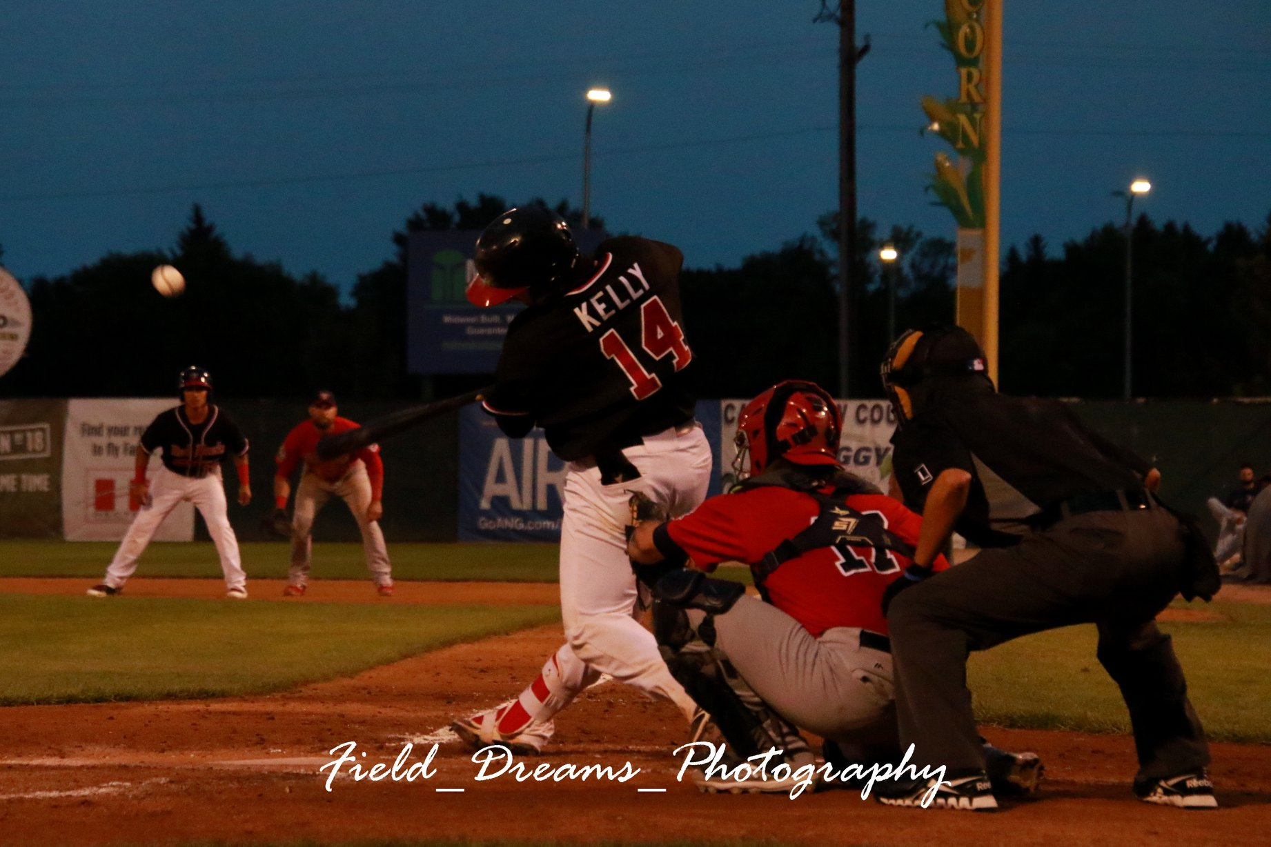 Hutchison Dominant, Saints Crush Canaries - American Association Daily