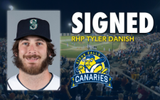Canaries Sign Former Major Leaguer Tyler Danish