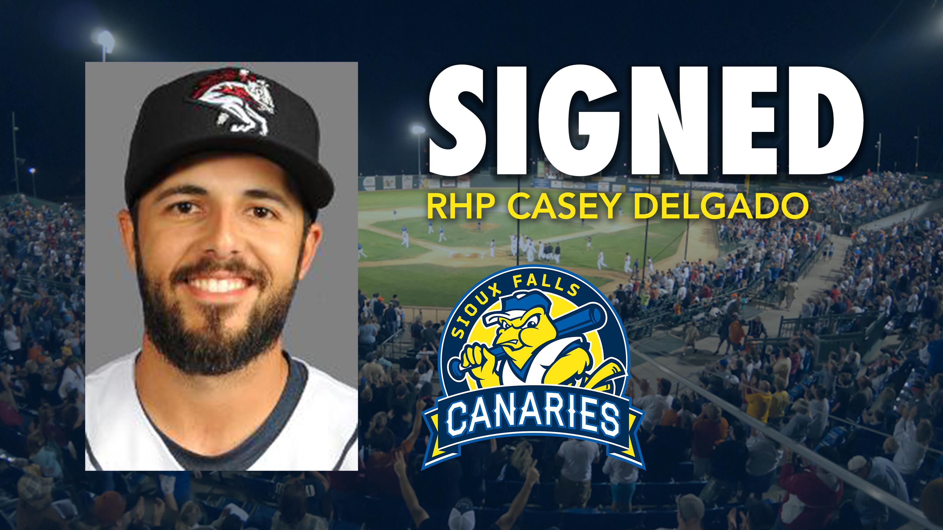 Canaries Add Right-Hander Casey Delgado