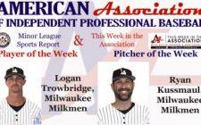 Trowbridge, Kussmaul Awarded Week 5 American Association Honors