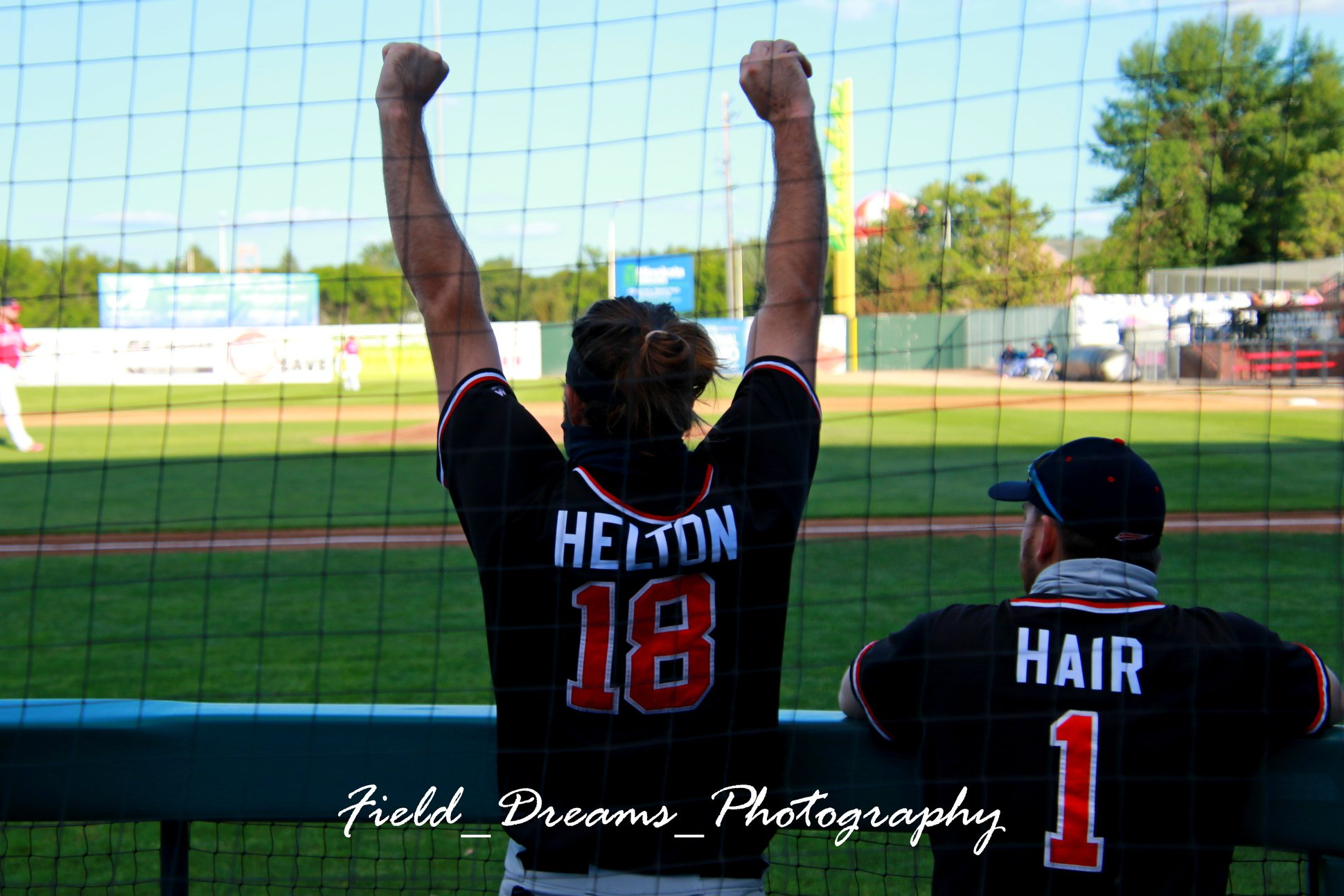Tomshaw Dazzles to Help RedHawks Complete Sweep