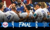 Harris Walk-Off Homer Gives Saints Marathon Victory, 6-4