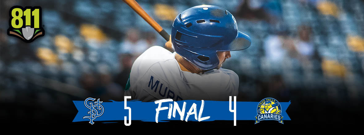 Saints Hold Off Canaries for 5-4 Victory