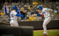 Samson, Reynolds Homer, But Saints Outslugged, 10-5