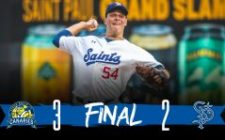 Solter Outdueled by Danish, Saints Lose, 3-2