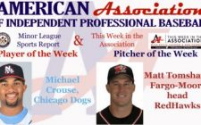 Crouse, Tomshaw Receive American Association Week 4 Honors