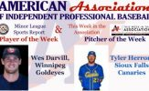 Darvill, Herron Awarded Week 6 American Association Honors