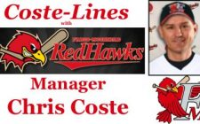 Coste-Lines with RedHawks Manager Chris Coste – Episode 9