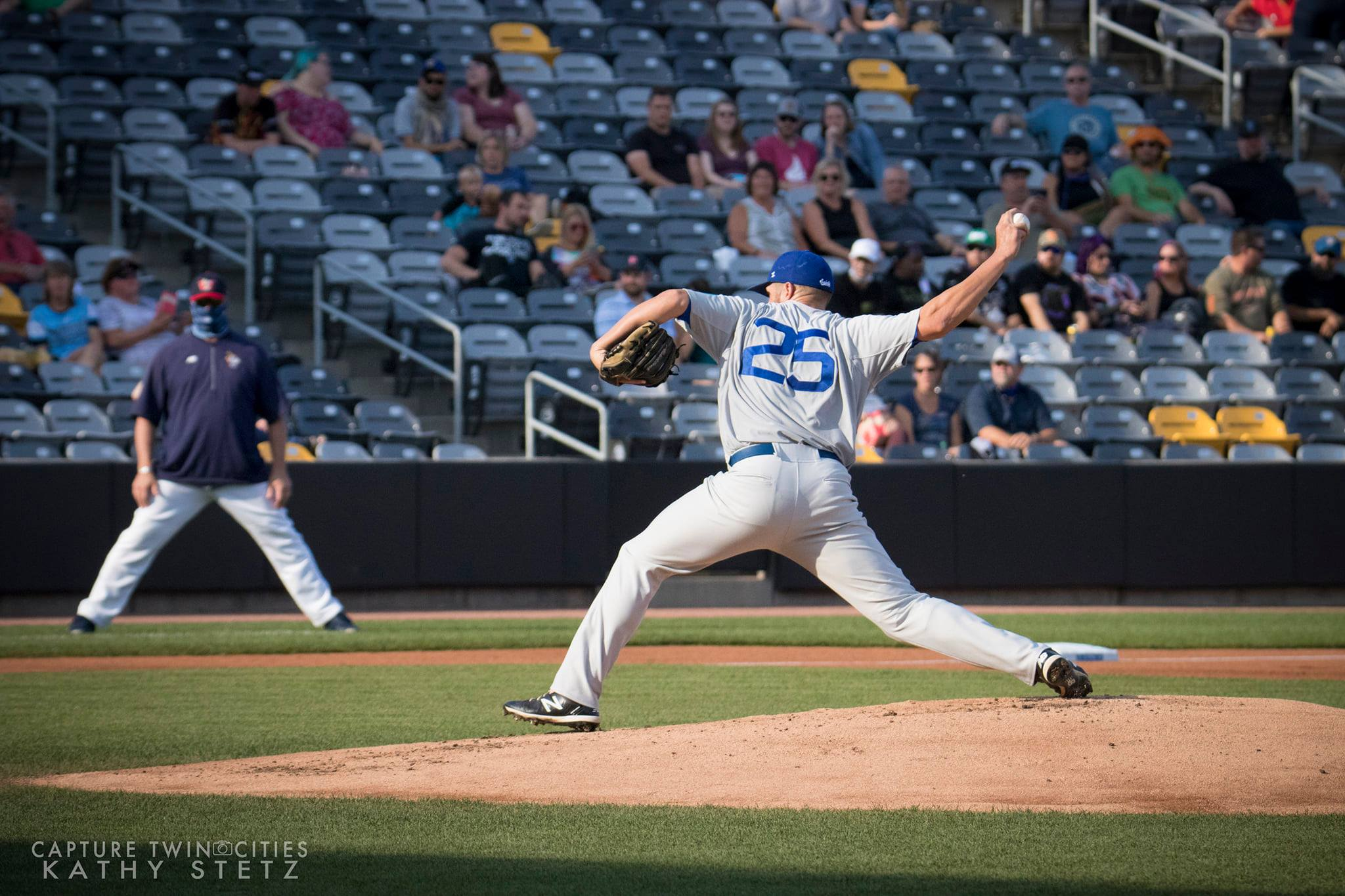 Saints Mike Devine Named American Association Pitcher of the Year