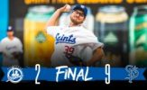 Tsamis Reaches Win No. 950, Saints Prevail, 9-2