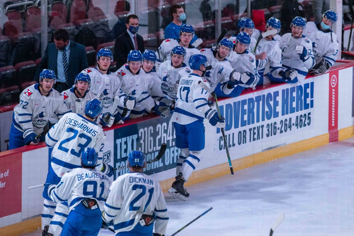 Weninger Leads Thunder to First Home Victory, 2-1