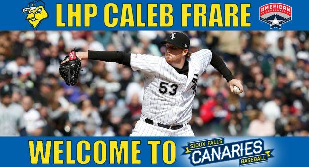 Sioux Falls Sign 'Fixer' Caleb Frare
