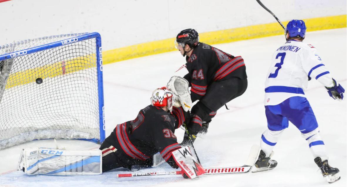 Parkkonen Completes Thunder Comeback with OT Game-Winner, 5-4