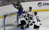 Three Unanswered Goals Help Thunder Rally Past Grizzlies, 4-3