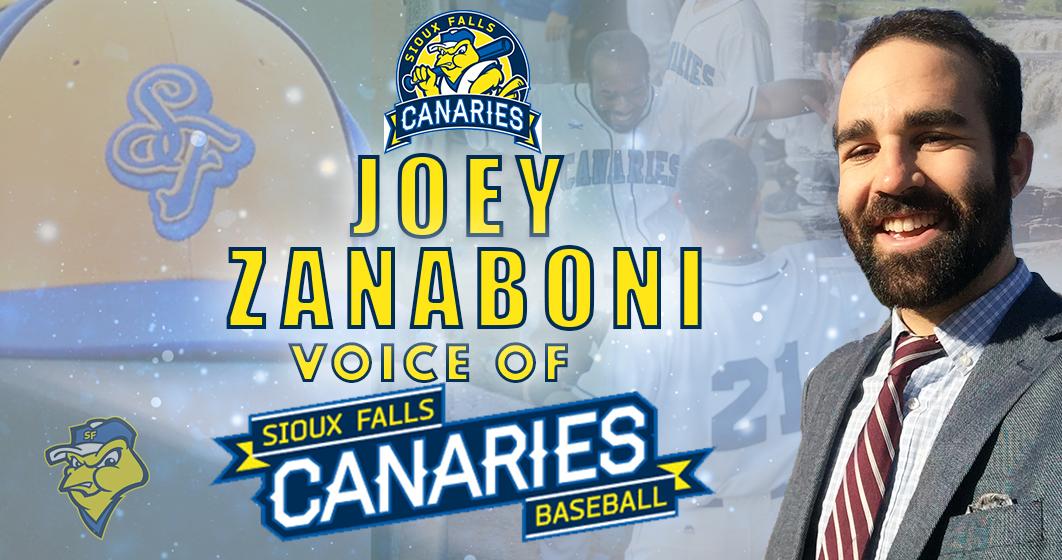 Joey Zanaboni Returns to American Association, New Voice of Canaries