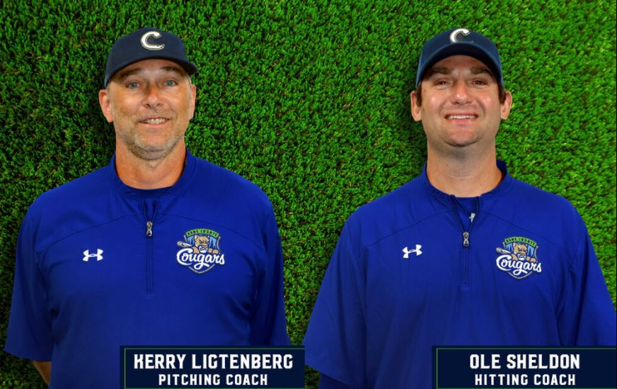 Ligtenberg, Sheldon Join Kane County Cougars Staff
