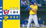 Four Homer Night Propels Canaries Past Goldeyes, 8-1